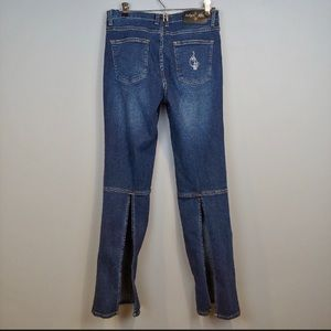 Baby Phat Open Calf Jeans